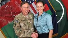 General Davis Petraeus and Paula Broadwell. (AP)