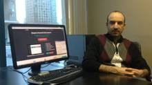Ramin Behzadi is the CEO of Denote (Image courtesy of Denote)