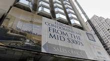 The number of new condos that sold in the Toronto area during June came in 94 per cent higher than the same month a year earlier, with 2,588 units finding buyers. (FRED LUM FOR THE GLOBE AND MAIL)