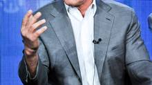 Arnold Schwarzenegger participates in the Years of Living Dangerously panel discussion at the Showtime Winter 2014 TCA Press Tour on Jan. 16, 2014, in Pasadena, Calif. (Richard Shotwell/AP)