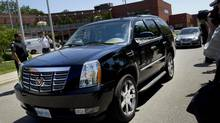 For years, Mr. Ford has driven to and from City Hall in an aging minivan. When his brothers bought him the Cadillac Esacalade, he told them was uncomfortable behind the wheel of the flashy new car. (Moe Doiron/The Globe and Mail)