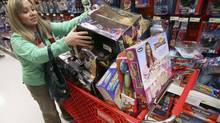 Nancy De Lire shops in a Target store in Chicago. (JOHN GRESS/REUTERS/John Gress)