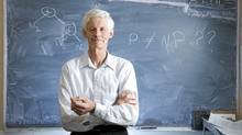 Stephen Cook, professor of computer science and mathematics at the University of Toronto. (Kevin Van Paassen/The Globe and Mail)