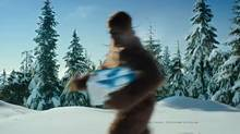 The Kokanee movie will feature the elusive Sasquatch. (Labatt Brewing/Labatt Brewing)