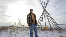 Tyrone Tootoosis stands near Wanuskewin Heritage Park south of Saskatoon. He was a played a pivotal role sustaining the traditions of activism, spirituality, storytelling and leadership within his community. (Kevin Van Paassen/Kevin Van Paassen/The Globe and)