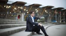 Andrew Hungerford of Hungerford Properties is photographed near his company's development site located near Richmond Olympic Oval in Richmond, British Columbia. (Rafal Gerszak For The Globe and Mail)