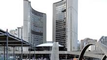 Toronto City Hall, September 26, 2011. (J.P. MOCZULSKI For The Globe and Mail/J.P. MOCZULSKI For The Globe and Mail)