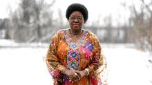 Juliette Bonkoungou, Ambassador of Burkina Faso poses for a portrait at her home in Gatineau, Quebec. (DAVE CHAN/THE GLOBE AND MAIL/DAVE CHAN/THE GLOBE AND MAIL)