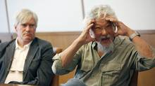 David Suzuki at the Editorial Board at The Globe and Mail in Toronto in 2012. (Deborah Baic/The Globe and Mail) (Deborah Baic/Deborah Baic/The Globe and Mail)