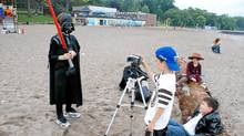 At camps run by the The Directors Cut at various locations in British Columbia, Alberta and Ontario, kids learn about movie-making.