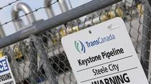 A TransCanada Keystone Pipeline pump station operates outside Steele City, Nebraska, in this file photo taken March 10, 2014. TransCanada said Monday it will spend about $550-million (U.S.) to build a 420-kilometre natural gas pipeline in Mexico. (LANE HICKENBOTTOM/Reuters)