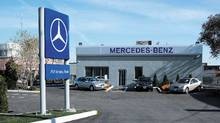 Mercedes-Benz Canada opened its third M-B Express service location in the Greater Toronto Area on January 21, 2004. (HO/CNW)