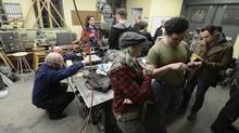 Sited in a former blacksmith shop, Site 3 coLaboratory is a maker space that offers members the use of tools and equipment, including a laser cutter, a metal lathe, an industrial sewing machine and a 3D printer. (FRED LUM/THE GLOBE AND MAIL)