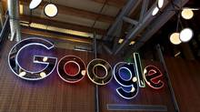 The Google logo is seen in this file photo. (© Peter Power / Reuters)