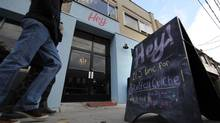 The ambience at Hey! is casual and genuinely welcoming – but then the food arrives. (Fred Lum/The Globe and Mail)