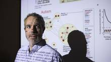 Brendan Frey, a U of T professor of engineering and medicine, led a l0-year project that resulted in technology that interprets and understands the human genome. (Matthew Sherwood for The Globe and Mail)
