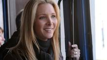 By the end of Friends' run, Lisa Kudrow was earning more than $1-million an episode. (NICOLE RIVELLI/AP)