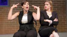 Allison Price and Stacey McGunnigle are part of a snappy bunch starring in Second City's latest show. (Racheal McCaig)