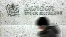 The London Stock Exchange at Paternoster Square in London (SANG TAN/AP)