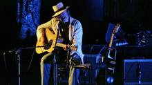 Neil Young plays in Winnipeg on July 26, 2010. (John Woods/The Globe and Mail)