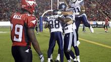 The Toronto Argonauts have won three games in a row, including last weekend in Calgary against the Stampeders. (JEFF McINTOSH/THE CANADIAN PRESS)