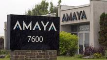 The Amaya Inc. headquarters are pictured on June 13, 2014, in a suburb of Montreal. (Ryan Remiorz/The Canadian Press)