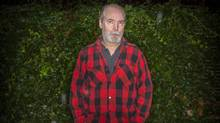 Artiest and author Douglas Coupland at his home in West Vancouver October 1, 2013. (John Lehmann/The Globe and Mail)
