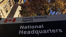 The Canada Revenue Agency headquarters in Ottawa is shown on November 4, 2011. An internal security audit revealed vulnerabilities still exist more than a year after a major data breach. (Sean Kilpatrick/THE CANADIAN PRESS)