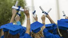 Graduating students. (Thinkstock/Thinkstock)