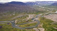 The Eclipse River runs through Torngat Mountains National Park. (H. Wittenborn/Parks Canada)