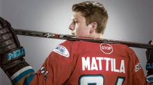 Not knowing what to do after Myles Mattila's teammate experienced mental-health issues spurred him to become an advocate. (Alexander Michael Hill)