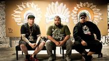 A Tribe Called Red's Nation II Nation features electronic drum and tribal chanting.