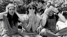 Lto R: Rory Cochrane, Jason London and Sasha Jenson in Dazed and Confused.