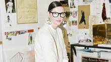 J. Crew creative director Jenna Lyons says America has led the casualization of fashion, but that she's seeing a renewed interest in dressing up and mixing chic with less formal attire. (Clement Pascal)