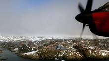 The Air Greenland service will be co-ordinated with arrivals in Iqaluit from Ottawa and other Canadian cities to ensure smooth connections for business people. (Bob Strong/Reuters/Bob Strong/Reuters)