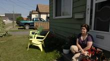 Port Colborne, Ont., resident Ellen Smith was part of a suit against Inco. (Sheryl Nadler for The Globe and Mail)