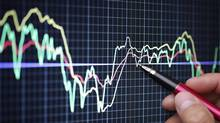Market analyze on LCD screen (Brian Jackson/Thinkstock)