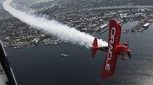Oracle results beat Street forecasts (Ted S. Warren/The Associated Press)