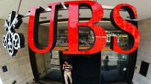 =The UBS Logo, pictured August 19, 2003, in Zurich, Switzerland. (STEFFEN SCHMIDT/AP)