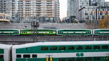 According to the consultants, the $13.5-billion RER would lead to 135-per-cent growth in GO ridership, from 54 million in 2014 to 127 million by 2029. (Ian Willms For The Globe and Mail)