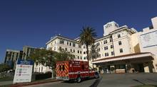 The Hollywood Presbyterian Medical Center is pictured in Los Angeles on February 16, 2016. The FBI is investigating a cyber attack that has crippled the electronic database at Hollywood Presbyterian Medical Center for days, forcing doctors at the Los Angeles hospital to rely on telephones and fax machines to relay patient information. (MARIO ANZUONI/REUTERS)