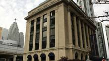 Oxford Properties Group and Canada Pension Plan Investment Board have purchased the building for $96-million. (Fernando Morales/The Globe and Mail)