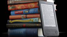 This product image provided by amazon.com Inc., shows the new Kindle 3 reader. (Anonymous/AP)
