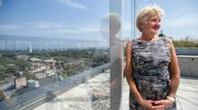 In the last municipal election, Toronto Councillor Paula Fletcher won by several hundred votes and is hoping to keep her Ward 30 seat in October. Fletcher is photographed on the rooftop deck at Bridgepoint Active Healthcare on Sept. 5, 2014. (Fred Lum/Fred Lum/The Globe and Mail)
