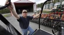 Keystone Agricultural Producers president Doug Chorney says the situation is so bad that farmers are selling their breeding animals because they can't afford to feed them. (JOHN WOODS FOR THE GLOBE AND MAIL)