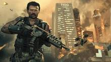 Call of Duty: Black Ops 2's main protagonist, David Mason, fights in the year 2025, where warfare has evolved to the point where fleets of robot drones march on the battlefield and buzz by in swarms overhead. Troops wear invisibility suits and guns can see through walls. (Activision)