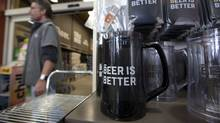 A beer store in Oakville, Ont. that shows new branding and updated style on May 14, 2013. (Deborah Baic/The Globe and Mail)