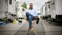 Shawn Williamson on the Burnaby set of Witches of East End. His company, Brightlight Pictures, got 34 Leo nominations. (Rafal Gerszak For The Globe and Mail)