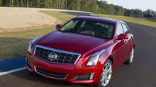 The ATS was named Best New Luxury Car for 1013 by the Automobile Journalists Association of Canada. (Gm)