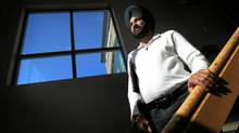 Balvir Dhaliwal says he paid $9,600 to an immigration consultant who never secured approvals for foreign workers Mr. Dhaliwal wished to hire. (Darryl Dyck for The Globe and Mail)